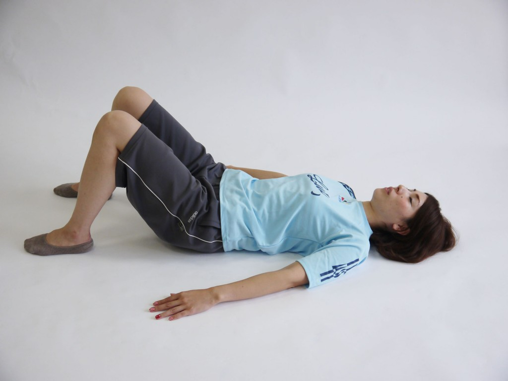 ケーゲル体操仰向け呼吸