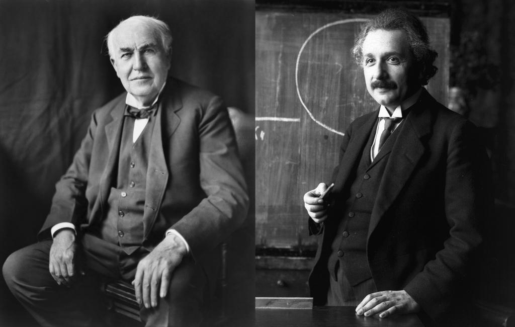エジソンとアインシュタイン