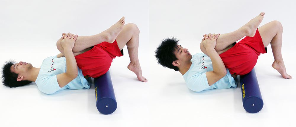 体幹部のストレッチ1