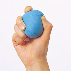 ボールを握る
