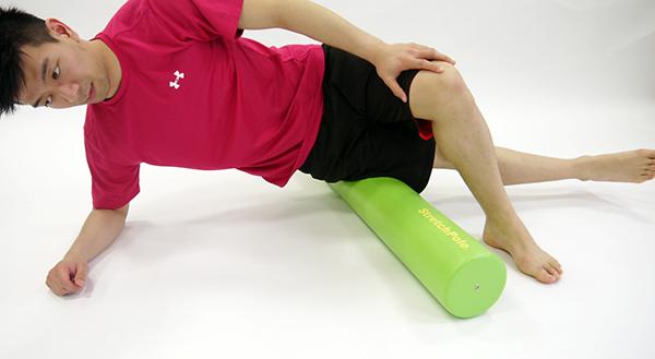 大腿筋膜張筋のセルフマッサージ