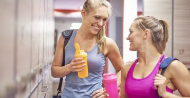 Protein drink is best after the training