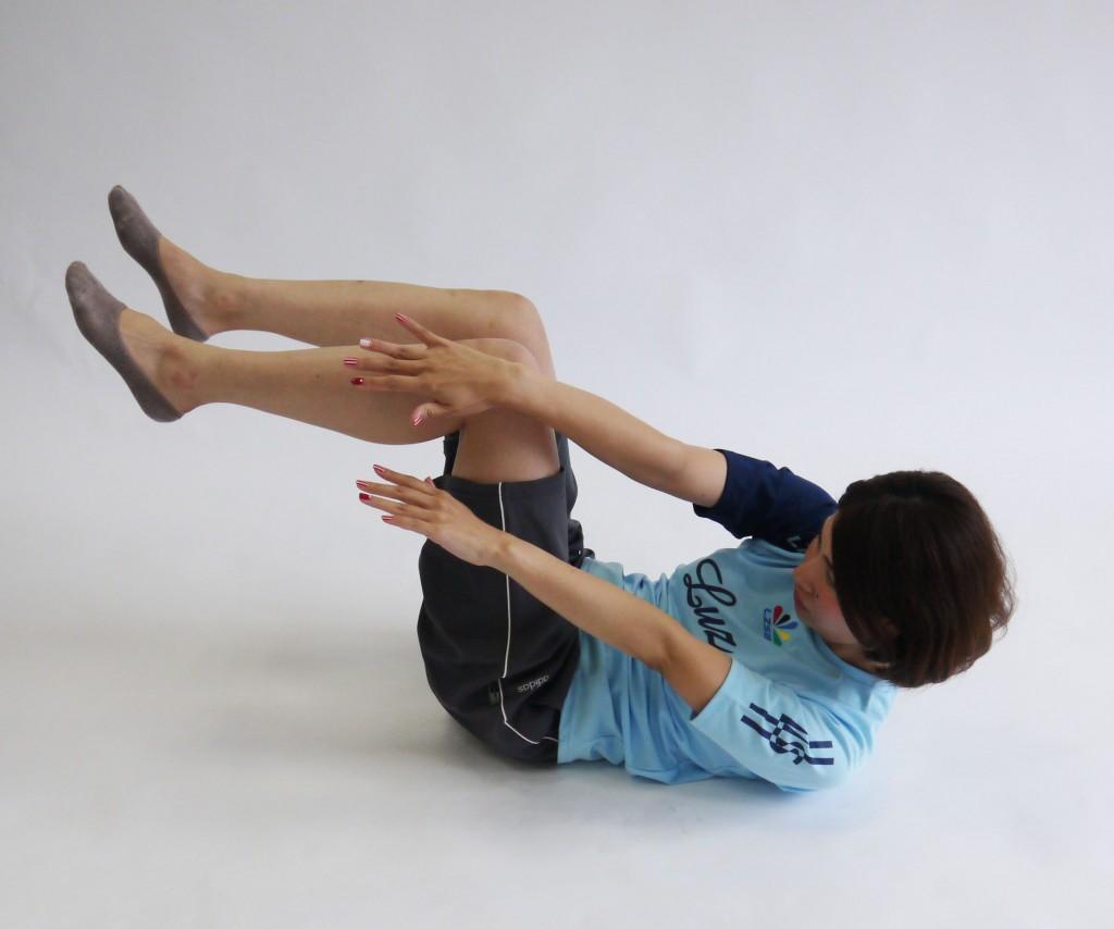 斜め腹筋運動