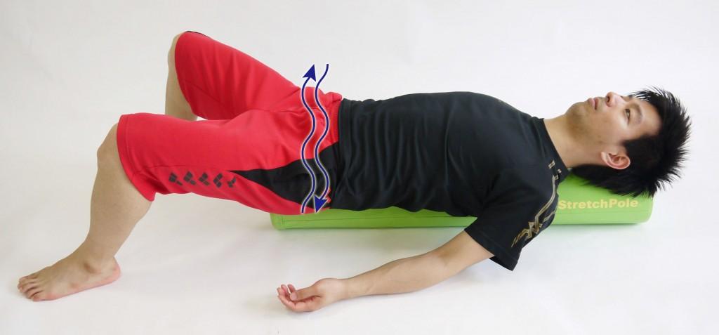 ストレッチポール股関節の運動