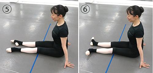 前足伸ばし2−1
