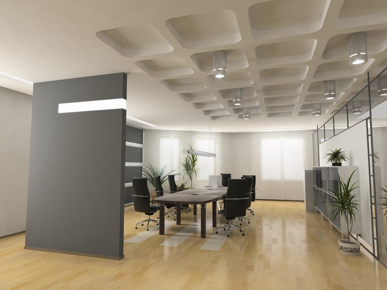 明るいオフィス