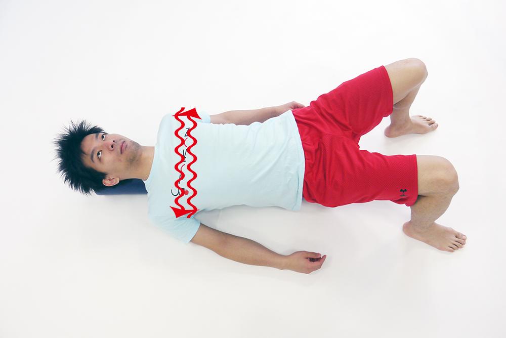 胸のスライド運動2