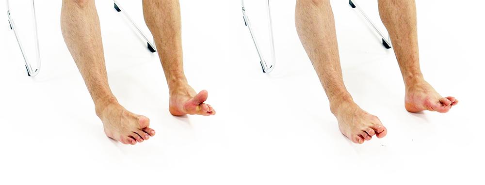 足の指運動
