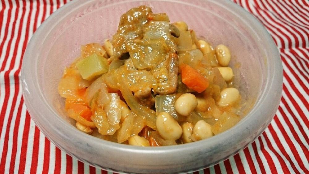 豚ヒレ肉の具沢山スープ