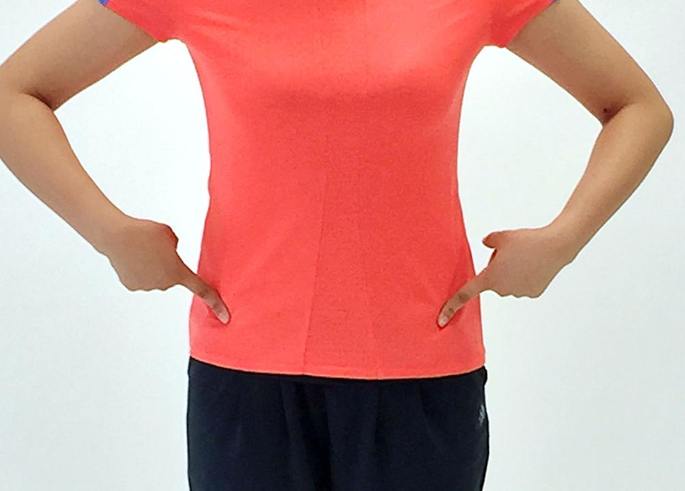 腹横筋の位置