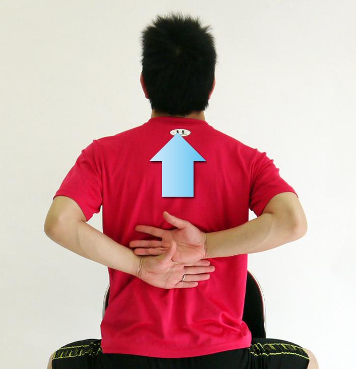 肩甲骨ストレッチ2