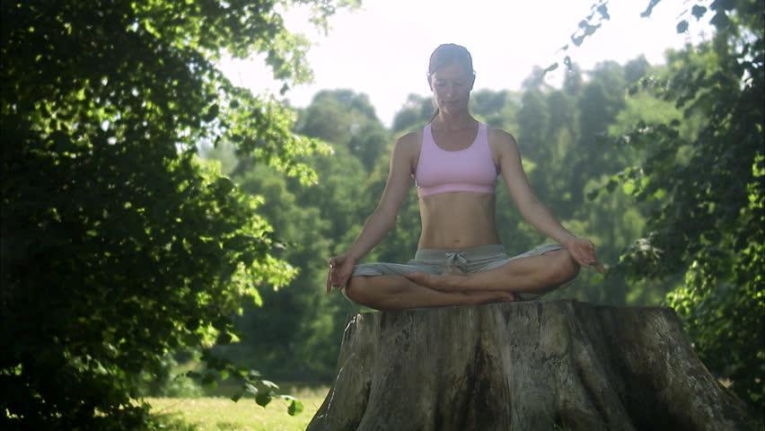 yogaintheforest