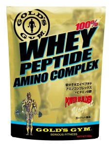 GOLD'S GYM ホエイペプチド アミノコンプレックス ヨーグルト風味 500g