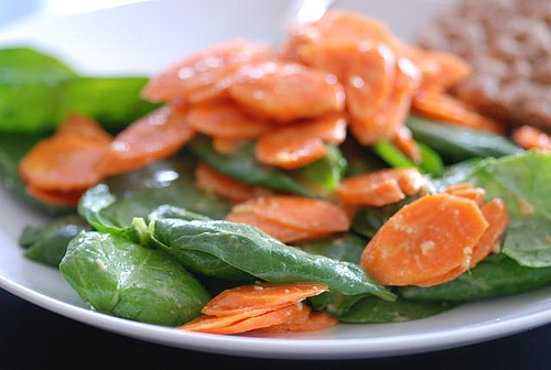 spinach-and-carrote