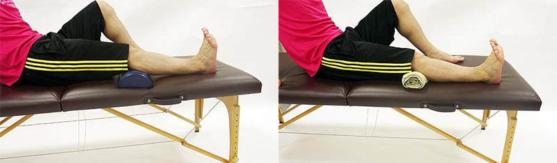膝蓋腱のストレッチ